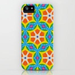 Fruity Retro Tropic iPhone Case