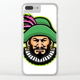 Minstrel Mascot Clear iPhone Case