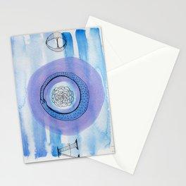 Orobouros Rose Stationery Cards