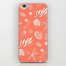Sea shells patten iPhone Skin