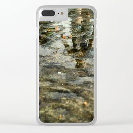 Mother and child Clear iPhone Case