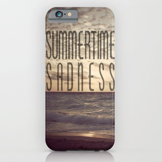 SUMMERTIME SADNESS iPhone & iPod Case