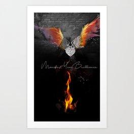Manifest Your Brilliance Art Print