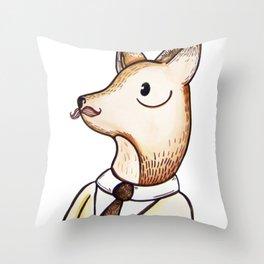 Master Fox Throw Pillow