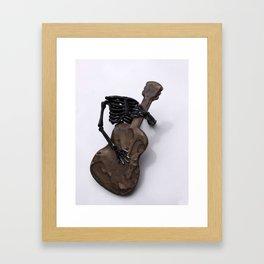 Rock and Roll ya Bones Framed Art Print