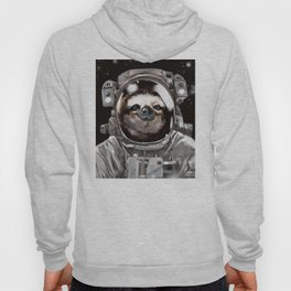 Astronaut Sloth Selfie Hoody