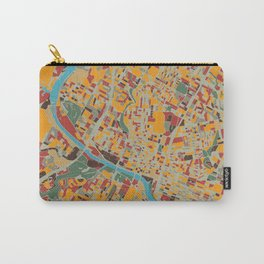 austin map retro Carry-All Pouch