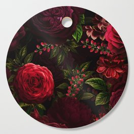 Mystical Night Roses Cutting Board