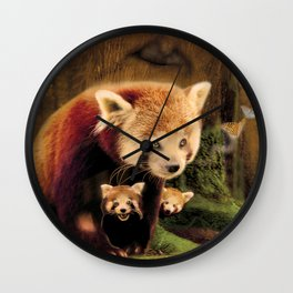 Forest Family Wall Clock