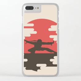 Ninja Clear iPhone Case