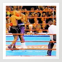 mike tyson Art Prints featuring Mike Tyson 55 by thetruthyoualwaysknew