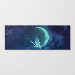 Moonowl Canvas Print