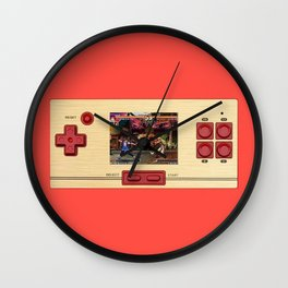 games Wall Clock