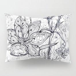 Bouquet of flowers lilies graphic Pillow Sham