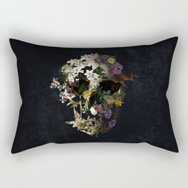 Spring Skull 2 Rectangular Pillow