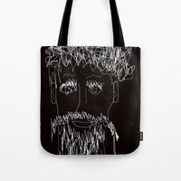 the who Tote Bags featuring Who by sladja