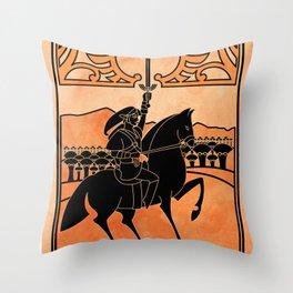 Hero of Time Throw Pillow