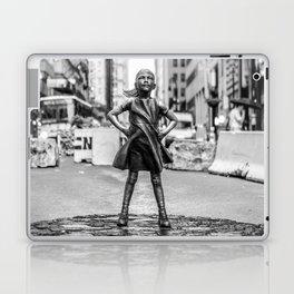 Fearless Girl NYC Laptop & iPad Skin