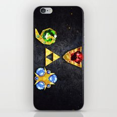 The Timeless Legend of Zelda Inspired Spiritual Stones iPhone & iPod Skin