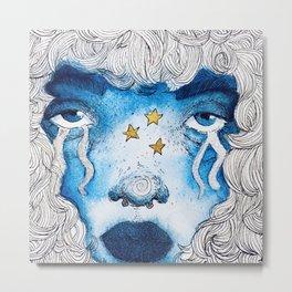 starry eyed child left behind Metal Print