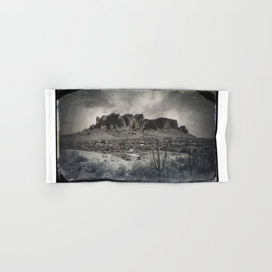 Superstition Mountain - Arizona Desert Hand & Bath Towel