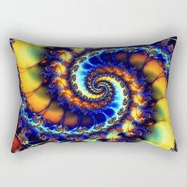 Secret Wormhole Rectangular Pillow