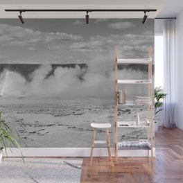 Geyser spewing Wall Mural