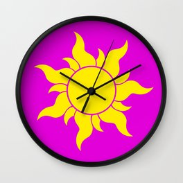 TANGLED SUN SYMBOL Wall Clock
