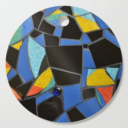 Toucan Dance Mosaic Cutting Board