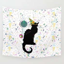 Chat Noir  Party Countdown Wall Tapestry