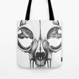 Rare Persian Smilodon Skull. Tote Bag