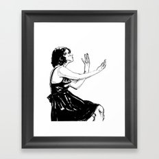 Perceive Framed Art Print