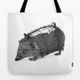 Hedgehog-sadist Tote Bag