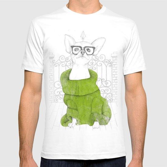 Hipster Chiuaua T-shirt