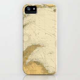 Vintage Map of Lake Superior (1832) iPhone Case