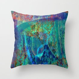 Abstract - Paintng Throw Pillow