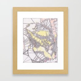 Intercoastal Framed Art Print