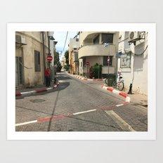 Tel Aviv photo - Kerem Hateimanim - Israel Art Print