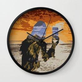 Lady Land Wall Clock