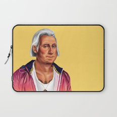 Hipstory -  George Washington Laptop Sleeve