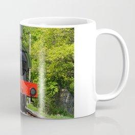 Steam locomotive at Peak Rail Coffee Mug