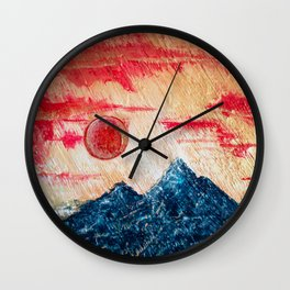 Apex Wall Clock