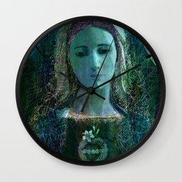 Holy Mary Wall Clock