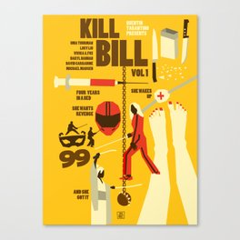 Quentin Tarantino - Kill Bill 1 Canvas Print