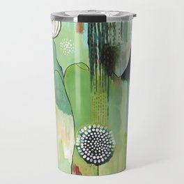 """Fly Home"" Original Painting by Flora Bowley Travel Mug"