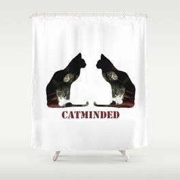 Cat minded Shower Curtain