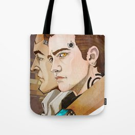 The CEO and the AI. Tote Bag