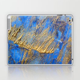 Blue and Gold  Laptop & iPad Skin