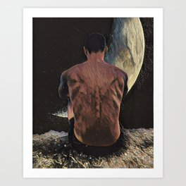 How Will I Know If He Really Loves Me? Art Print