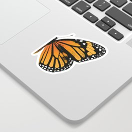 Monarch Butterfly | Right Wing Sticker
